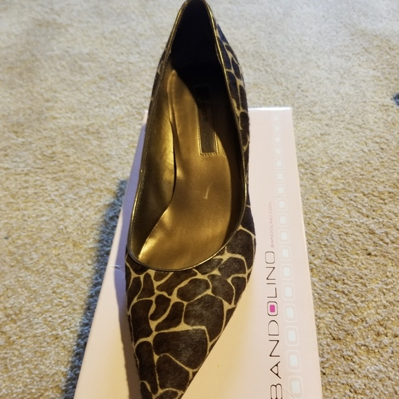 Bandolino Shoes - Ladies Animal Print Pumps